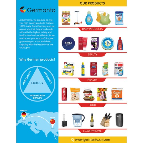 Germanto flyer (front)