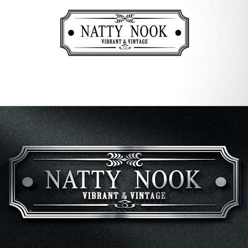 natty nook vintage logo