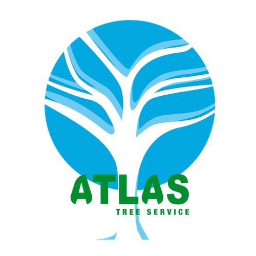 atlas tree service logo