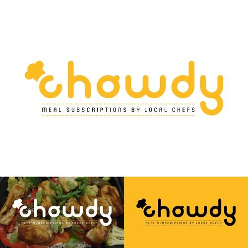 Chowdy logo redesign