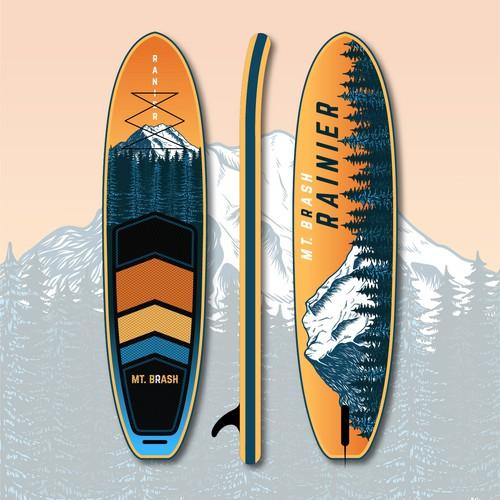 Mt. Rainier Board