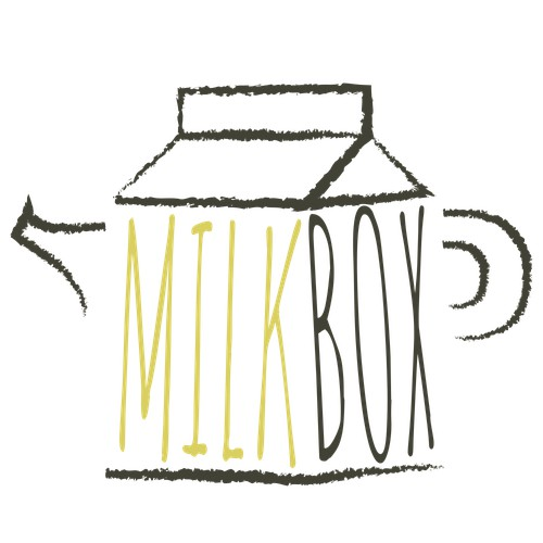 Logo Concept Design for Milk Box Tea Company