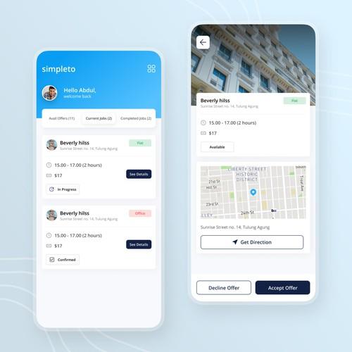 Janitor App