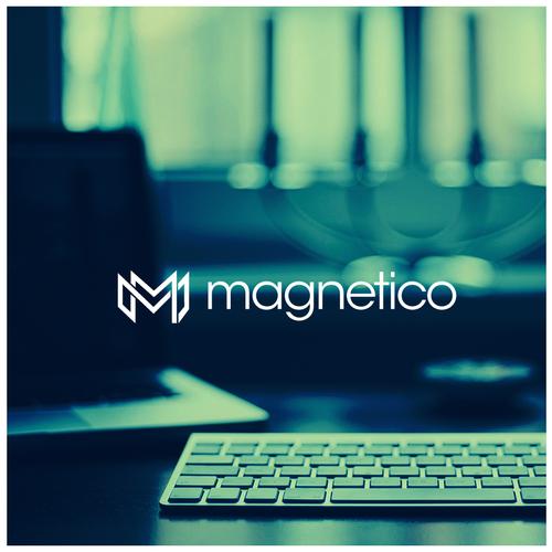 bold logo for digital marketing- magnetico