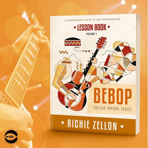 """Richie Zellon的""""Bebop  - 课程书""""的书籍封面"""