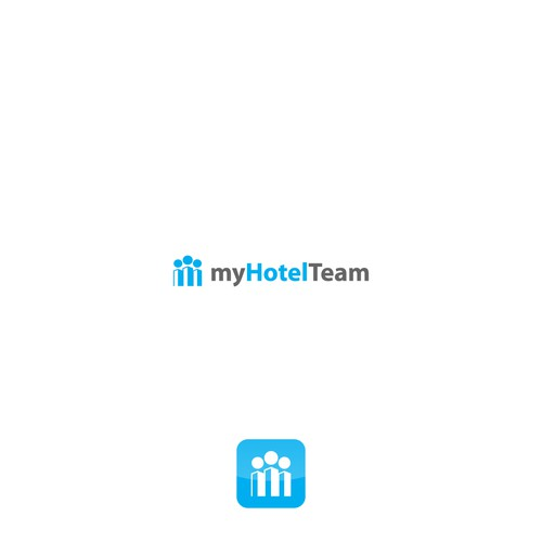 Create a cool logo for hotel scheduling website and app