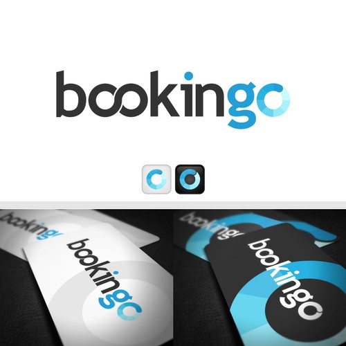 Logo concept for Bookingo