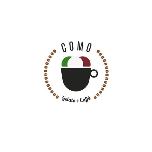 COMO gelato  e  caffe