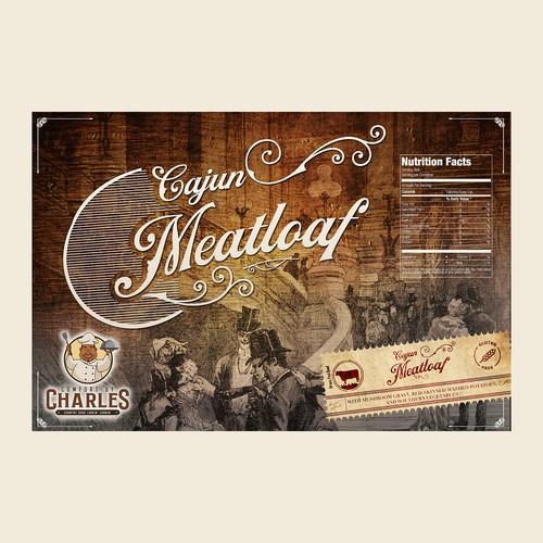 Cajun Meatloaf packaging