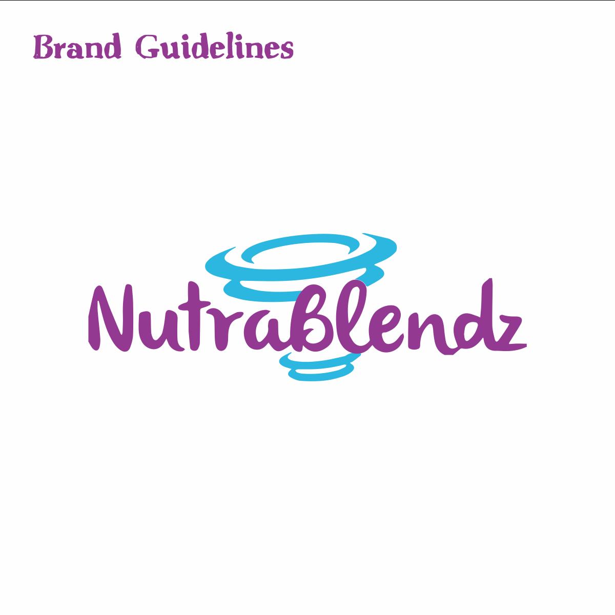 Set up a brand guide for NutraBlendz