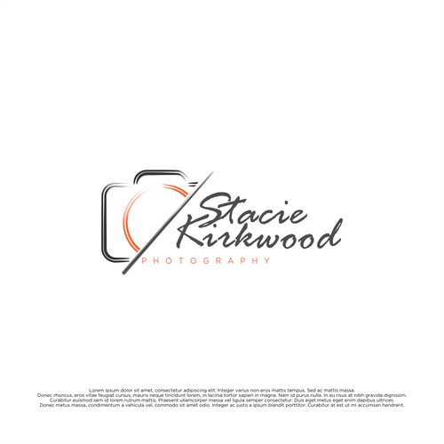 Simple Design Concept For Stacie Kirkwood Photography