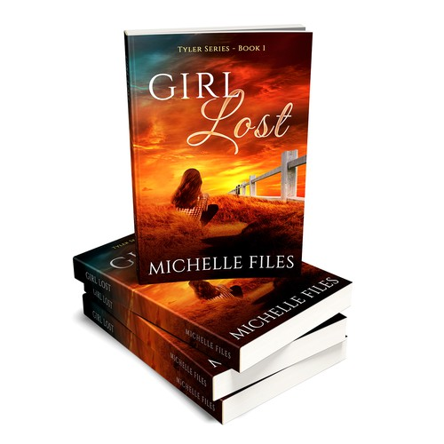 """Book cover for """"Girl Lost"""""""