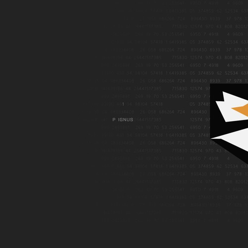 Bold logo proposal for a Security Information Company.