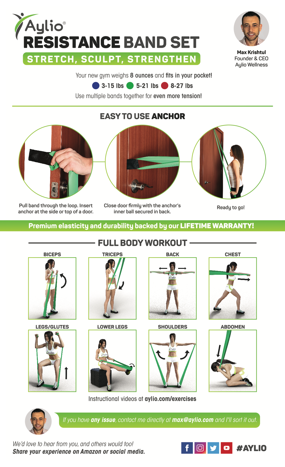 Insert - Exercise Bands