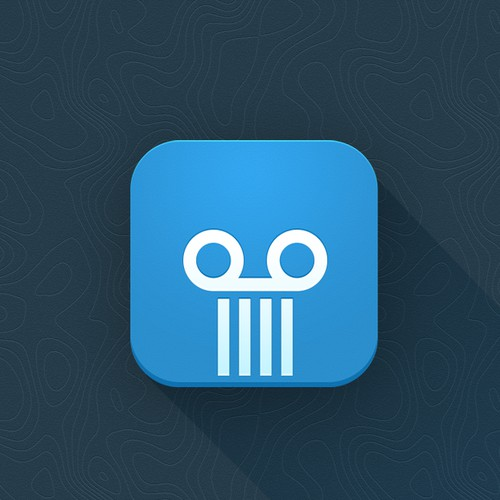 iOS Icon for Video E-Learning Platform