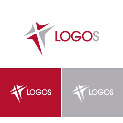 "Create a captivating image representing our new church ""LOGOS"""