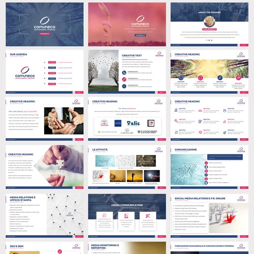 PowerPoint Template for Comuneco