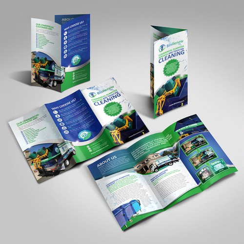BinRenew Trifold Brochure