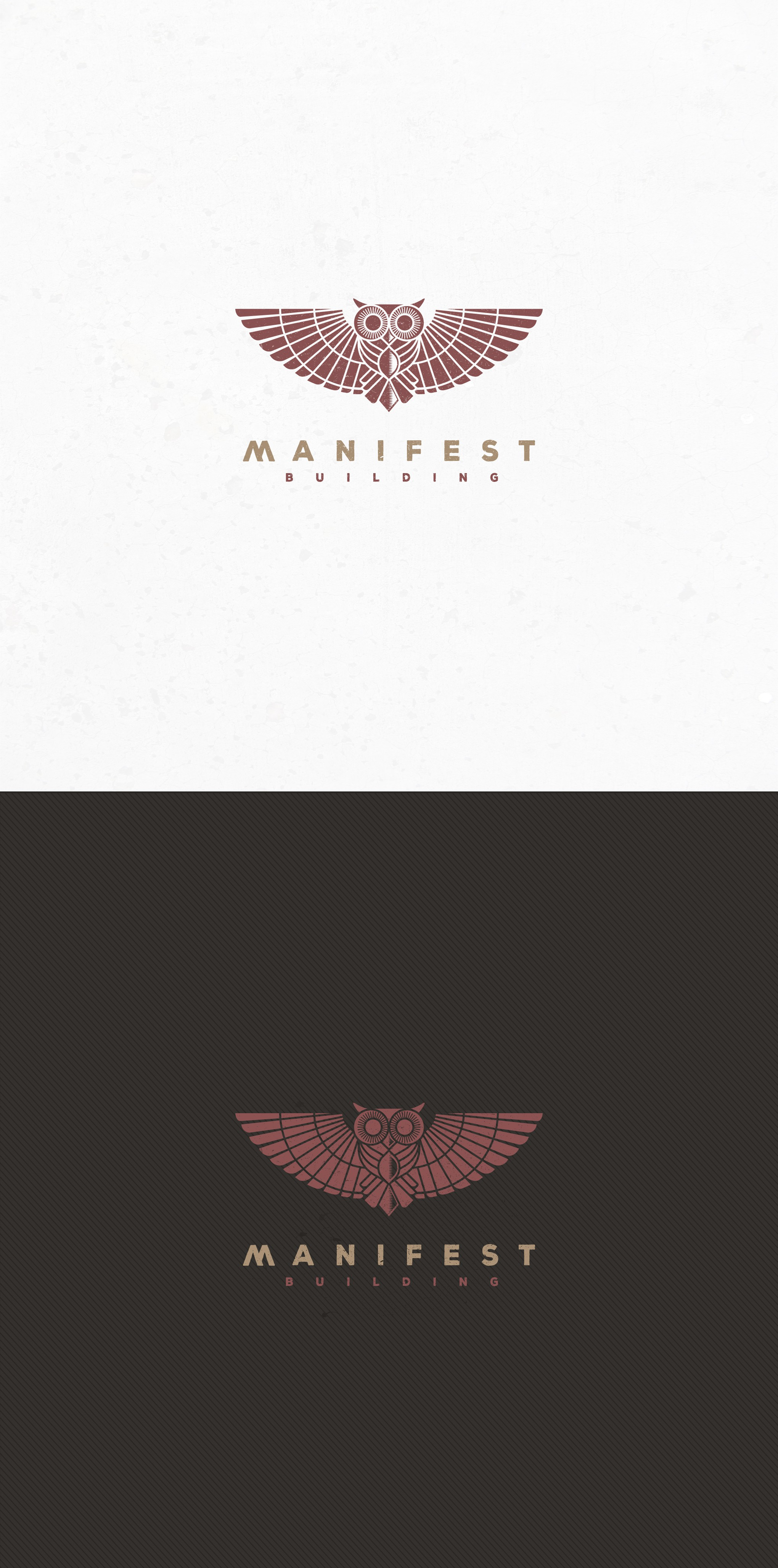 A conscious construction company [Manifest Building] needs an identity