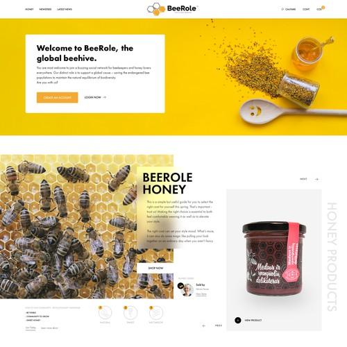 Honey Online Marketplace - eCommerce Platform