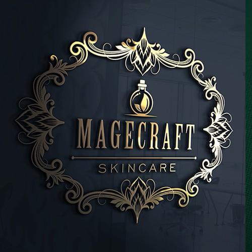 Decorative logo concept for Magecraft Skincare