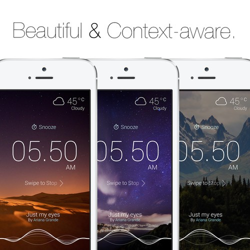 Alarm Clock Concept App