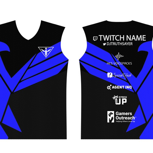 esport jersey for djtruthsayer