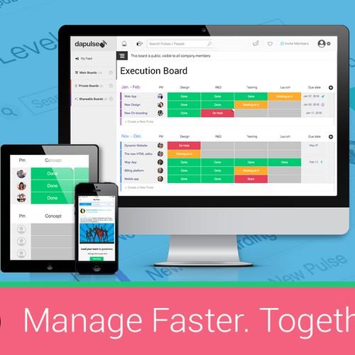 Management Software Banner Ad