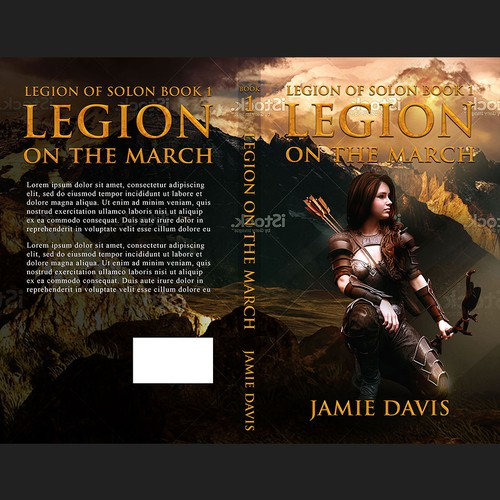 Legion on the march Book cover