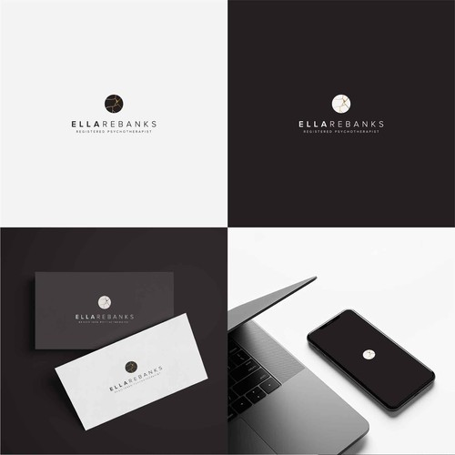 Logo design for registered psychotherapist Ella Rebanks