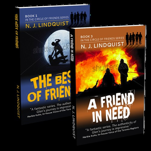 Great cover needed for Book 1 of a 4-book YA series for guys that we're reprinting.