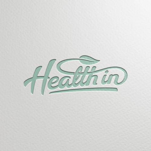 Logo for Health in vegan restaurant