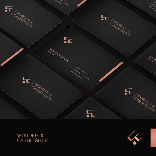 Law firm needs an updated brand with an old school feel in a modern way.