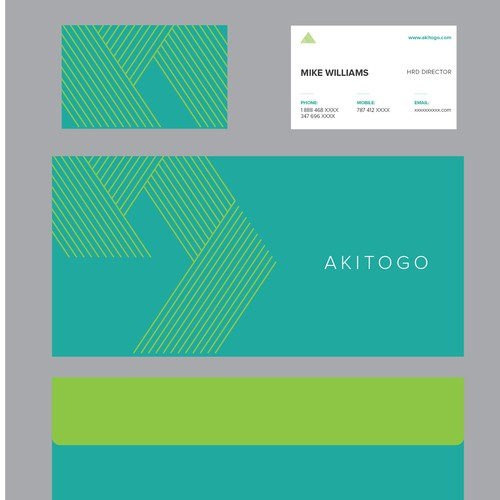 Minimalist Logo concept for AKITOGO