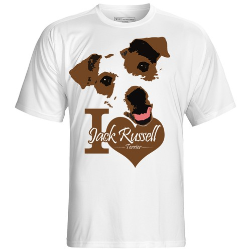 Jack Russell Terrier T-Shirt Contest