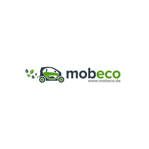 mobeco logo design