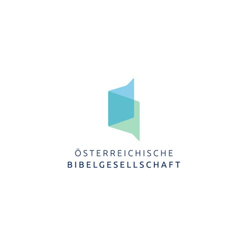 Modern new logo for Austrian Bible Society