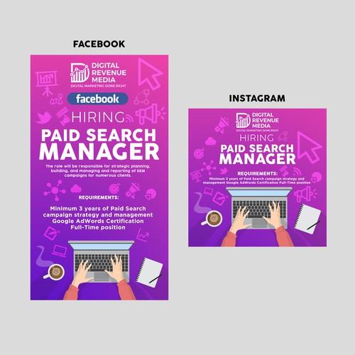 DRM Social Media Post