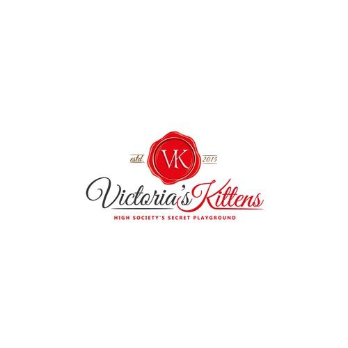 Victoria's Kittens logo concept