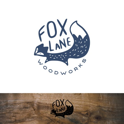 Quirky Handcrafted logo