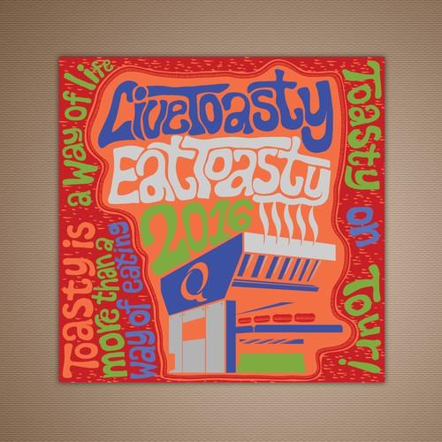 Quiznos Music Poster Calendar