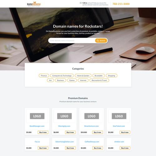 Domain name marketplace