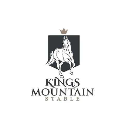 Logo for horse farm