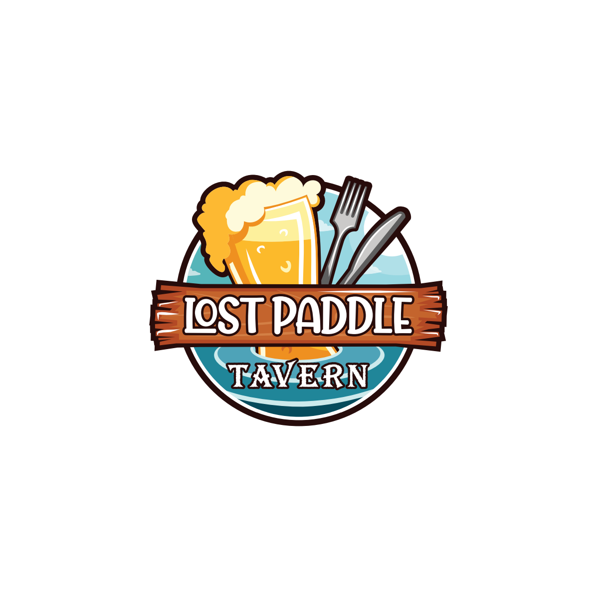 Lost Paddle Tavern logo
