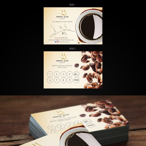 MONTE ALTO COFFEE CARD
