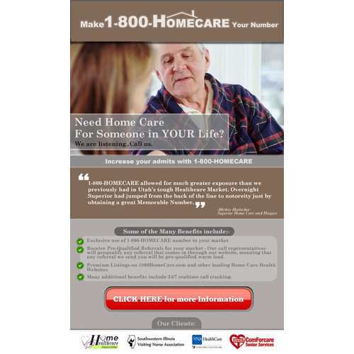 Email Blast for 1-800-HOMECARE