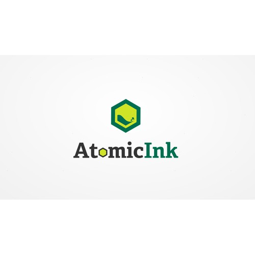 GO WILD with creating a new logo wanted for Atomic Ink!!!!
