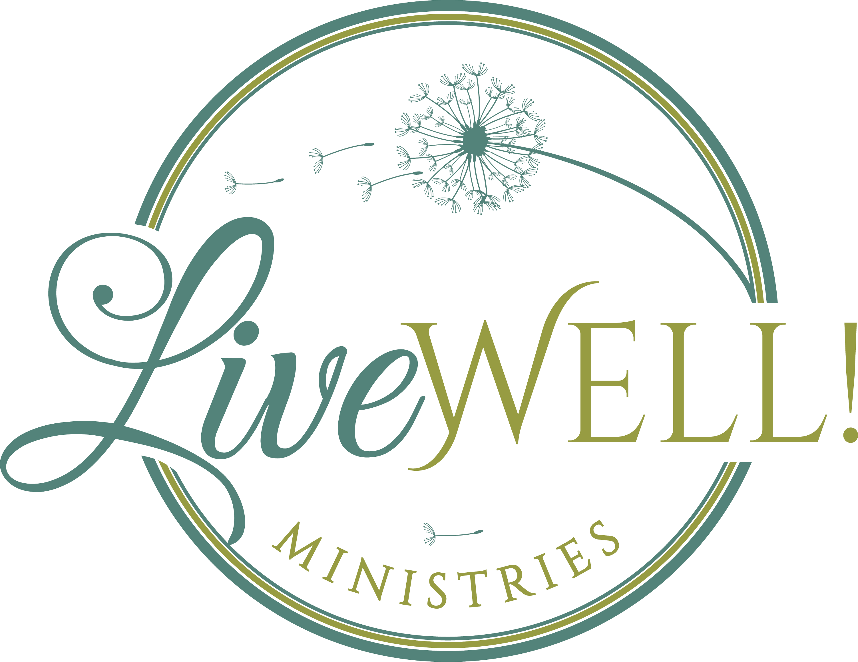 Create a simple, organic and life-giving logo for LiveWell!