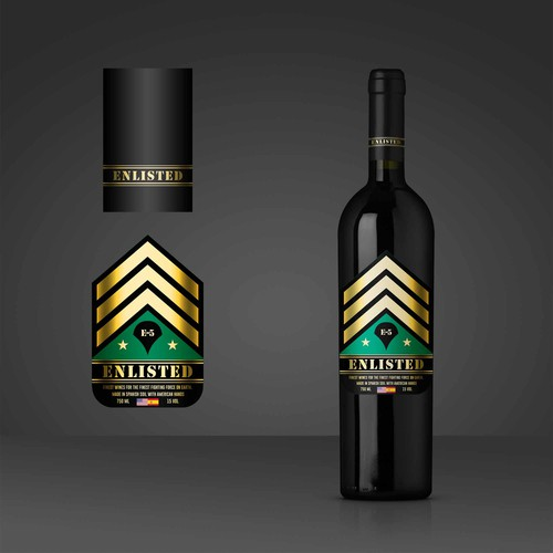 enlisted wine