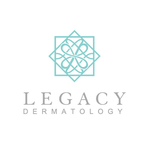 Legacy Dermatology - logo for a new medical and cosmetic dermatology practice